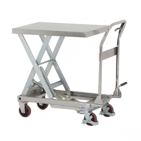 Table élévatrice inox 250Kg