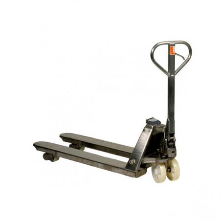 Transpalette controleur de poids galvanisé 2000 kg