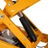 Table élévatrice électrique Double ciseaux 500kg ciseaux hauts zoom sur la pompe hydraulique